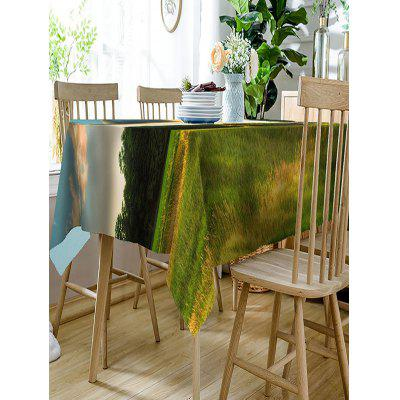 Landscape Printed Waterproof Polyester Table ClothTable Accessories<br>Landscape Printed Waterproof Polyester Table Cloth<br><br>Material: Polyester<br>Package Contents: 1 x Table Cloth<br>Pattern Type: Scenery<br>Type: Table Cloth<br>Weight: 0.3150kg