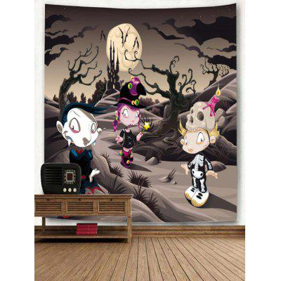 Cartoon Wizard Print TapestryBlankets &amp; Throws<br>Cartoon Wizard Print Tapestry<br><br>Feature: Removable, Washable<br>Material: Polyester<br>Package Contents: 1 x Tapestry<br>Shape/Pattern: Cartoon<br>Style: Festival<br>Theme: Cartoon,Halloween<br>Weight: 0.3200kg