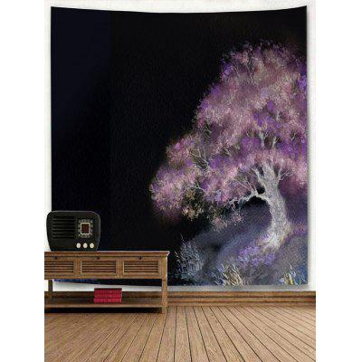 Oil Painting Tree Print TapestryBlankets &amp; Throws<br>Oil Painting Tree Print Tapestry<br><br>Feature: Removable, Washable<br>Material: Polyester<br>Package Contents: 1 x Tapestry<br>Shape/Pattern: Tree<br>Style: Natural<br>Theme: Plants/Flowers<br>Weight: 0.2200kg
