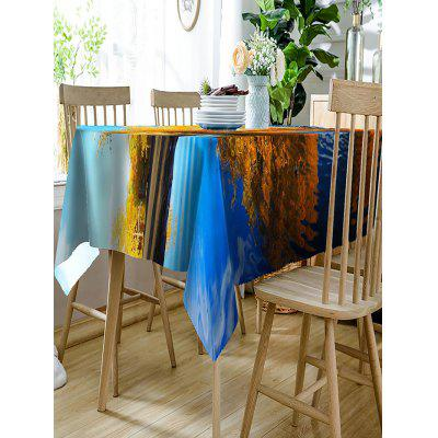 Autumn Lakeside Landscape Printed Waterproof Table ClothTable Accessories<br>Autumn Lakeside Landscape Printed Waterproof Table Cloth<br><br>Material: Polyester<br>Package Contents: 1 x Table Cloth<br>Pattern Type: Scenery<br>Type: Table Cloth<br>Weight: 0.3350kg