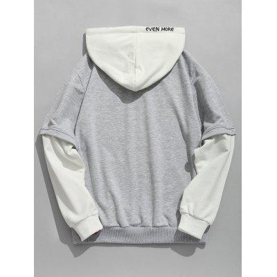 Contrast Color Pouch Pocket HoodieMens Hoodies &amp; Sweatshirts<br>Contrast Color Pouch Pocket Hoodie<br><br>Material: Polyester<br>Package Contents: 1 x Hoodie<br>Pattern Type: Letter<br>Shirt Length: Regular<br>Sleeve Length: Full<br>Style: Fashion<br>Weight: 0.6800kg
