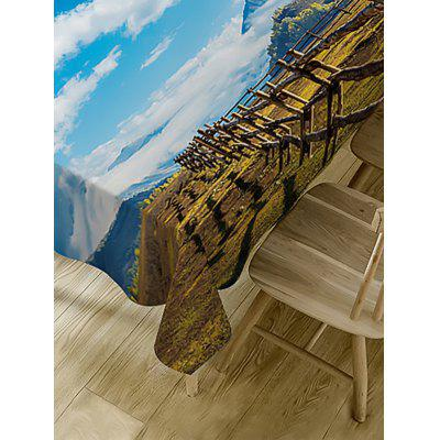 Scenic Theme Waterproof Table ClothTable Accessories<br>Scenic Theme Waterproof Table Cloth<br><br>Material: Polyester<br>Package Contents: 1 x Table Cloth<br>Pattern Type: Print<br>Type: Table Cloth<br>Weight: 0.3750kg