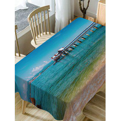Sea Bridge Print Fabric Waterproof Table ClothTable Accessories<br>Sea Bridge Print Fabric Waterproof Table Cloth<br><br>Material: Polyester<br>Package Contents: 1 x Table Cloth<br>Pattern Type: Print<br>Type: Table Cloth<br>Weight: 0.5900kg