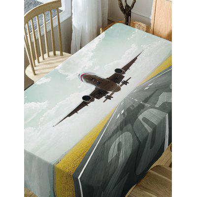 Aircraft Print Fabric Waterproof Table ClothTable Accessories<br>Aircraft Print Fabric Waterproof Table Cloth<br><br>Material: Polyester<br>Package Contents: 1 x Table Cloth<br>Pattern Type: Print<br>Type: Table Cloth<br>Weight: 0.4600kg