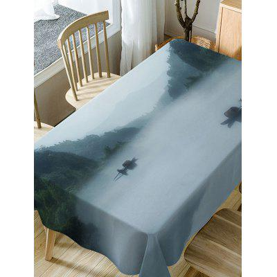 River In Mountains Print Fabric Waterproof Table ClothTable Accessories<br>River In Mountains Print Fabric Waterproof Table Cloth<br><br>Material: Polyester<br>Package Contents: 1 x Table Cloth<br>Pattern Type: Scenery<br>Type: Table Cloth<br>Weight: 0.3750kg