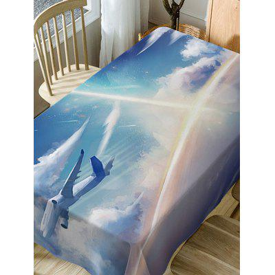 Airplane In The Sky Print Waterproof Table ClothTable Accessories<br>Airplane In The Sky Print Waterproof Table Cloth<br><br>Material: Polyester<br>Package Contents: 1 x Table Cloth<br>Pattern Type: Print<br>Type: Table Cloth<br>Weight: 0.3750kg