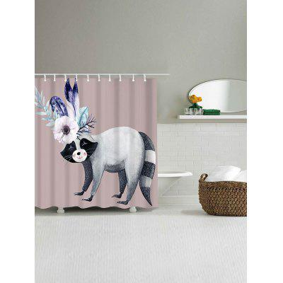 Flamboyant Animal Printed Waterproof Shower CurtainShower Curtain<br>Flamboyant Animal Printed Waterproof Shower Curtain<br><br>Materials: Polyester<br>Number of Hook Holes: W59 inch*L71 inch: 10; W71 inch*L71 inch: 12<br>Package Contents: 1 x Shower Curtain 1 x Hooks (Set)<br>Pattern: Animal<br>Products Type: Shower Curtains<br>Style: Romantic