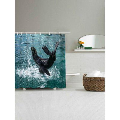 Leaping Dolphin Printed Shower CurtainShower Curtain<br>Leaping Dolphin Printed Shower Curtain<br><br>Materials: Polyester<br>Number of Hook Holes: W59 inch*L71 inch: 10; W71 inch*L71 inch: 12<br>Package Contents: 1 x Shower Curtain 1 x Hooks (Set)<br>Pattern: Animal<br>Products Type: Shower Curtains<br>Style: Beach Style