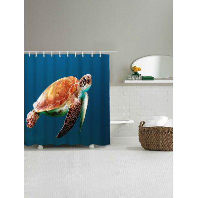Sea Turtle Printed Shower CurtainShower Curtain<br>Sea Turtle Printed Shower Curtain<br><br>Materials: Polyester<br>Number of Hook Holes: W59 inch*L71 inch: 10; W71 inch*L71 inch: 12<br>Package Contents: 1 x Shower Curtain 1 x Hooks (Set)<br>Pattern: Animal<br>Products Type: Shower Curtains<br>Style: Beach Style