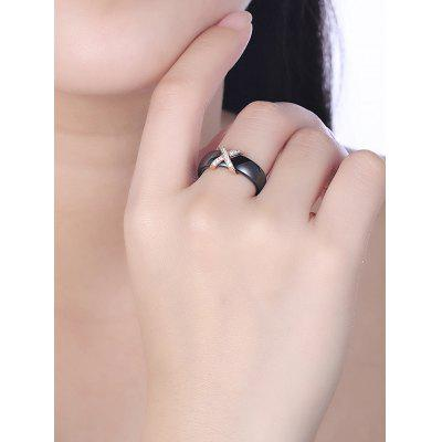 Letter X Shaped Rhinestones Inlaid RingRings<br>Letter X Shaped Rhinestones Inlaid Ring<br><br>Gender: Unisex<br>Metal Type: Alloy<br>Package Contents: 1 x Ring<br>Shape/Pattern: Letter<br>Style: Punk<br>Weight: 0.0050kg