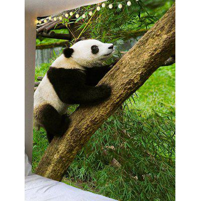 Climbing Panda Print Waterproof Wall Hanging TapestryBlankets &amp; Throws<br>Climbing Panda Print Waterproof Wall Hanging Tapestry<br><br>Feature: Removable, Waterproof<br>Material: Velvet<br>Package Contents: 1 x Tapestry<br>Shape/Pattern: Animal<br>Style: Natural<br>Weight: 0.4000kg