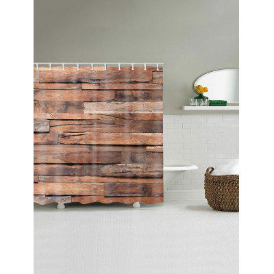 Irregular Wood Board Print Shower Curtain Bathroom DecorShower Curtain<br>Irregular Wood Board Print Shower Curtain Bathroom Decor<br><br>Materials: Polyester<br>Number of Hook Holes: W59 inch*L71 inch: 10; W65 inch * L71 inch:10; W71 inch*L71 inch: 12; W71 inch*L79 inch: 12<br>Package Contents: 1 x Shower Curtain 1 x Hooks (Set)<br>Pattern: Wood Grain<br>Products Type: Shower Curtains<br>Style: Vintage