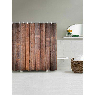 Old Wood Grain Print Waterproof Shower CurtainShower Curtain<br>Old Wood Grain Print Waterproof Shower Curtain<br><br>Materials: Polyester<br>Number of Hook Holes: W59 inch*L71 inch: 10; W65 inch * L71 inch:10; W71 inch*L71 inch: 12; W71 inch*L79 inch: 12<br>Package Contents: 1 x Shower Curtain 1 x Hooks (Set)<br>Pattern: Wood Grain<br>Products Type: Shower Curtains<br>Style: Vintage