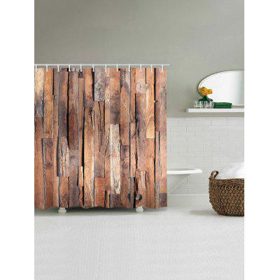 Retro Wood Plank Print Polyester Shower Bath CurtainShower Curtain<br>Retro Wood Plank Print Polyester Shower Bath Curtain<br><br>Materials: Polyester<br>Number of Hook Holes: W59 inch*L71 inch: 10; W65 inch * L71 inch:10; W71 inch*L71 inch: 12; W71 inch*L79 inch: 12<br>Package Contents: 1 x Shower Curtain 1 x Hooks (Set)<br>Pattern: Wood Grain<br>Products Type: Shower Curtains<br>Style: Vintage