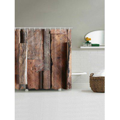 Wooden Print Shower CurtainShower Curtain<br>Wooden Print Shower Curtain<br><br>Materials: Polyester<br>Number of Hook Holes: W59 inch*L71 inch: 10; W71 inch*L71 inch: 12; W71 inch*L79 inch: 12<br>Package Contents: 1 x Shower Curtain 1 x Hooks (Set)<br>Pattern: Wood Grain<br>Products Type: Shower Curtains<br>Style: Vintage