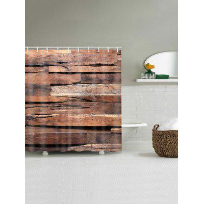 Uneven Wood Plank Print Waterproof Bath CurtainShower Curtain<br>Uneven Wood Plank Print Waterproof Bath Curtain<br><br>Materials: Polyester<br>Number of Hook Holes: W59 inch*L71 inch: 10; W71 inch*L71 inch: 12; W71 inch*L79 inch: 12<br>Package Contents: 1 x Shower Curtain 1 x Hooks (Set)<br>Pattern: Wood Grain<br>Products Type: Shower Curtains<br>Style: Vintage