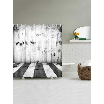 Star Wood Plank Print Waterproof Shower CurtainShower Curtain<br>Star Wood Plank Print Waterproof Shower Curtain<br><br>Materials: Polyester<br>Number of Hook Holes: W59 inch*L71 inch: 10; W65 inch * L71 inch:10; W71 inch*L71 inch: 12; W71 inch*L79 inch: 12<br>Package Contents: 1 x Shower Curtain 1 x Hooks (Set)<br>Pattern: Wood Grain<br>Products Type: Shower Curtains<br>Style: Vintage