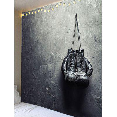 Stone Wall With Boxing Gloves Printed TapestryBlankets &amp; Throws<br>Stone Wall With Boxing Gloves Printed Tapestry<br><br>Material: Velvet<br>Package Contents: 1 x Tapestry<br>Shape/Pattern: Print<br>Style: Fashion<br>Weight: 0.4000kg