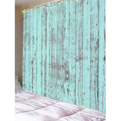 Paint Peeling off Wooden Plank Print Wall Tapestry от GearBest.com INT