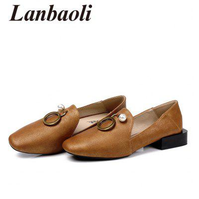 Lanbaoli Pointed Toe Round Metal Detail Low Heel LoafersWomens Pumps<br>Lanbaoli Pointed Toe Round Metal Detail Low Heel Loafers<br><br>Heel Height Range: Low(0.75-1.5)<br>Heel Type: Low Heel<br>Insole Material: PU<br>Occasion: Casual<br>Outsole Material: Rubber<br>Package Contents: 1 x Loafers (pair)<br>Pumps Type: Basic<br>Season: Spring/Fall, Summer<br>Shoe Width: Medium(B/M)<br>Toe Shape: Pointed Toe<br>Toe Style: Closed Toe<br>Upper Material: Microfiber<br>Weight: 0.9950kg