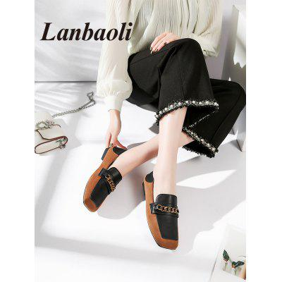 Lanbaoli Casual Slip On FlatsWomens Flats<br>Lanbaoli Casual Slip On Flats<br><br>Closure Type: Slip-On<br>Flat Type: Slip-On<br>Gender: For Women<br>Heel Height Range: Flat(0-0.5)<br>Occasion: Casual<br>Package Contents: 1 x Flats (pair)<br>Pattern Type: Patchwork<br>Season: Spring/Fall<br>Shoe Width: Medium(B/M)<br>Toe Shape: Square Toe<br>Toe Style: Closed Toe<br>Upper Material: PU<br>Weight: 0.9280kg
