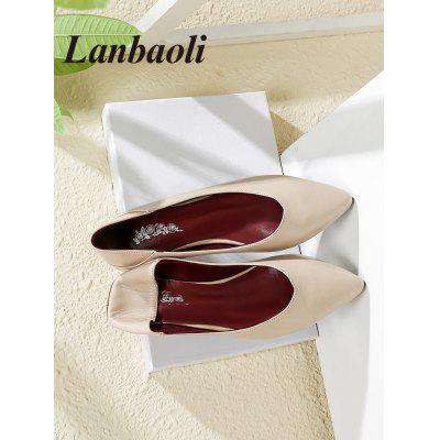 Lanbaoli Pointed Toe Casual LoafersWomens Flats<br>Lanbaoli Pointed Toe Casual Loafers<br><br>Closure Type: Slip-On<br>Flat Type: Slip-On<br>Gender: For Women<br>Heel Height Range: Low(0.75-1.5)<br>Occasion: Casual<br>Package Contents: 1 x Loafers (pair)<br>Pattern Type: Solid<br>Season: Spring/Fall<br>Shoe Width: Medium(B/M)<br>Toe Shape: Pointed Toe<br>Toe Style: Closed Toe<br>Upper Material: PU<br>Weight: 0.9000kg