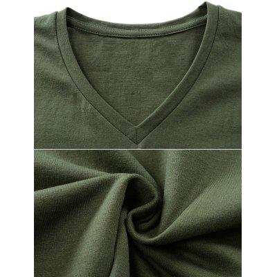 Short Sleeve V-Neck Basic T-shirtMens Short Sleeve Tees<br>Short Sleeve V-Neck Basic T-shirt<br><br>Collar: V-Neck<br>Material: Cotton, Polyester<br>Package Contents: 1 x T-shirt<br>Pattern Type: Solid<br>Sleeve Length: Short<br>Style: Active, Casual<br>Weight: 0.2300kg
