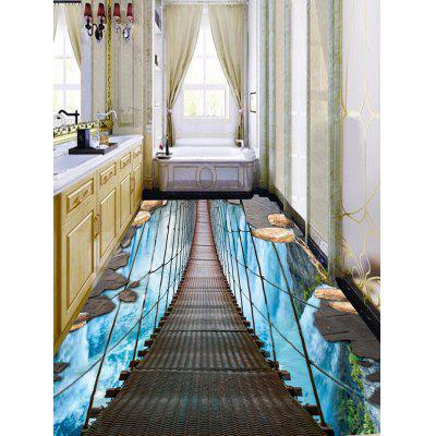 3D Hanging Bridge Waterfall Print Floor StickersWall Stickers<br>3D Hanging Bridge Waterfall Print Floor Stickers<br><br>Feature: Removable<br>Functions: Floor Sticker<br>Material: PVC<br>Package Contents: 1 x Floor Stickers(Set)<br>Pattern Type: 3D<br>Wall Sticker Type: 3D Wall Stickers<br>Weight: 0.5100kg
