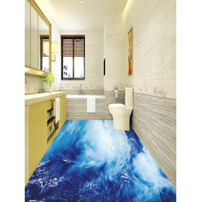 Sea Wave Printed Decorative Floor StickersWall Stickers<br>Sea Wave Printed Decorative Floor Stickers<br><br>Feature: Removable<br>Functions: Floor Sticker<br>Material: PVC<br>Package Contents: 1 x Floor Stickers (Set)<br>Pattern Type: Print<br>Wall Sticker Type: Plane Wall Stickers<br>Weight: 0.8200kg