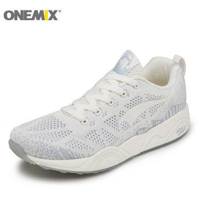 ONEMIX Lightweight Lace Up Breathable Casual SneakersAthletic Shoes<br>ONEMIX Lightweight Lace Up Breathable Casual Sneakers<br><br>Closure Type: Lace-Up<br>Feature: Breathable<br>Gender: For Men<br>Outsole Material: Rubber<br>Package Contents: 1 x Sneaker (pair)<br>Pattern Type: Others<br>Season: Spring/Fall<br>Shoe Width: Medium(B/M)<br>Upper Material: Mesh<br>Weight: 1.6630kg