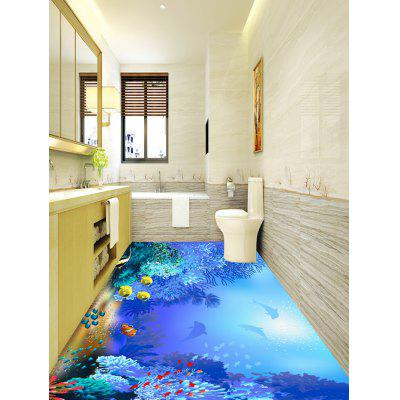 Fish and Coral Reef Print Floor Wall StickersWall Stickers<br>Fish and Coral Reef Print Floor Wall Stickers<br><br>Feature: Removable<br>Functions: Floor Sticker<br>Material: PVC<br>Package Contents: 1 x Floor Stickers(Set)<br>Pattern Type: Animal<br>Wall Sticker Type: Plane Wall Stickers<br>Weight: 0.5100kg