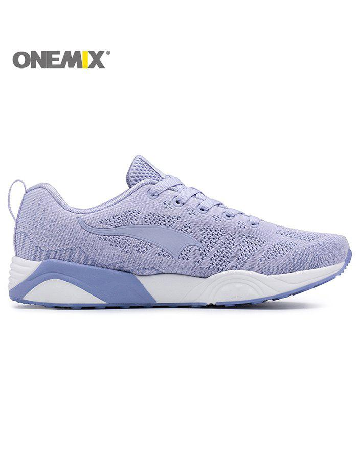 ONEMIX Lightweight Lace Up Breathable Casual Sneakers