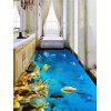 Sea World Print PVC Removable Floor Wall Stickers - COLORMIX