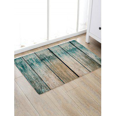 Vintage Wood Grain Print Non-skip Floor Area Rug
