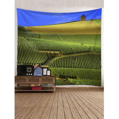 Tree Farm Print Tapestry Wall Hanging DecorBlankets &amp; Throws<br>Tree Farm Print Tapestry Wall Hanging Decor<br><br>Feature: Removable, Washable<br>Material: Polyester<br>Package Contents: 1 x Tapestry<br>Shape/Pattern: Plant<br>Style: Natural<br>Weight: 0.3000kg