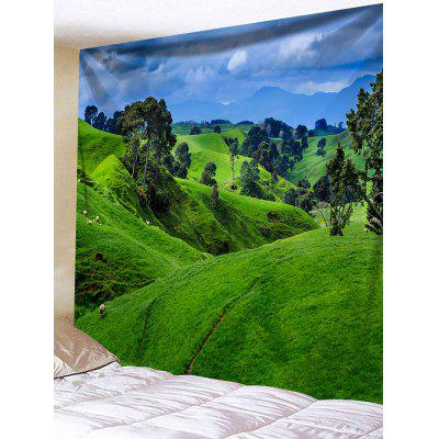 Hilly Print Tapestry Wall Hanging Decor