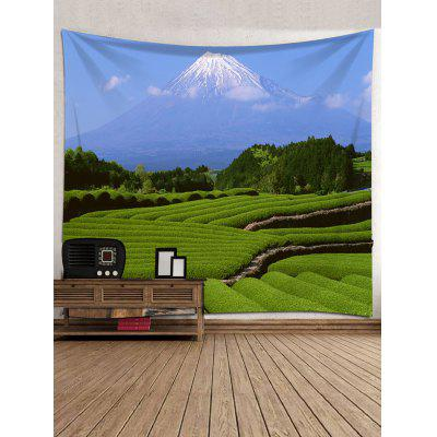 Tea Garden Print Tapestry Wall Hanging DecorBlankets &amp; Throws<br>Tea Garden Print Tapestry Wall Hanging Decor<br><br>Feature: Washable<br>Material: Polyester<br>Package Contents: 1 x Tapestry<br>Shape/Pattern: Plant<br>Style: Natural<br>Theme: Landscape<br>Weight: 0.3000kg