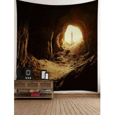 Adventure Tunnel Printed Wall Hanging TapestryBlankets &amp; Throws<br>Adventure Tunnel Printed Wall Hanging Tapestry<br><br>Feature: Removable, Waterproof<br>Material: Polyester<br>Package Contents: 1 x Tapestry<br>Shape/Pattern: Print<br>Style: Natural<br>Weight: 0.3400kg
