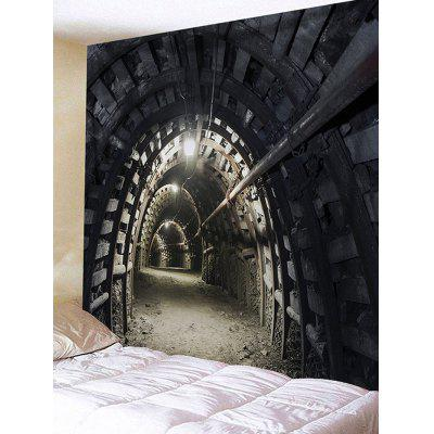 3D Souterrain Printed Waterproof Wall Tapestry