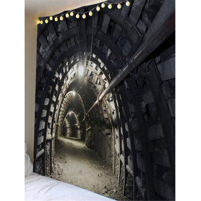 3D Souterrain Printed Waterproof Wall TapestryBlankets &amp; Throws<br>3D Souterrain Printed Waterproof Wall Tapestry<br><br>Feature: Removable, Waterproof<br>Material: Polyester<br>Package Contents: 1 x Tapestry<br>Shape/Pattern: Buildings<br>Style: Vintage<br>Theme: Architecture<br>Weight: 0.4200kg