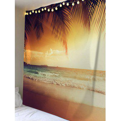 Coconut Seaside Beach Scenery Printed Wall Art TapestryBlankets &amp; Throws<br>Coconut Seaside Beach Scenery Printed Wall Art Tapestry<br><br>Feature: Removable, Washable<br>Material: Polyester<br>Package Contents: 1 x Tapestry<br>Shape/Pattern: Print<br>Style: Natural<br>Theme: Landscape<br>Weight: 0.2100kg