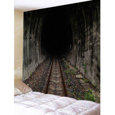 Tunnel Track Printed Wall Art Tapestry