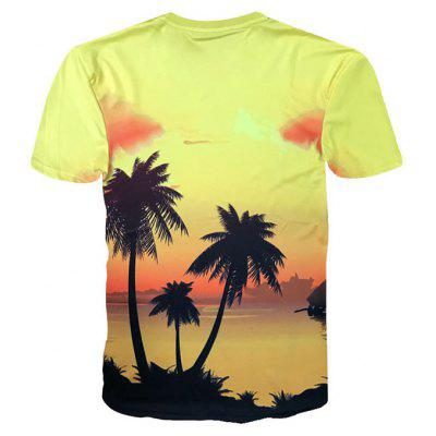 Hawaiian Crew Neck Coconut Trees Sunset Print T-shirtMens Short Sleeve Tees<br>Hawaiian Crew Neck Coconut Trees Sunset Print T-shirt<br><br>Collar: Crew Neck<br>Material: Polyester, Spandex<br>Package Contents: 1 x T-shirt<br>Pattern Type: Plant<br>Sleeve Length: Short<br>Style: Casual<br>Weight: 0.2050kg