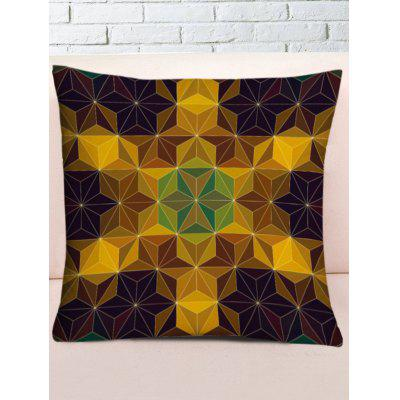 Geometric Shaped Square Pillow Case