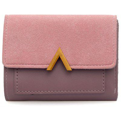 PU Leather Fold Coin Purse Wallet
