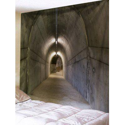 Secret Tunnel Printed Wall Art Tapestry