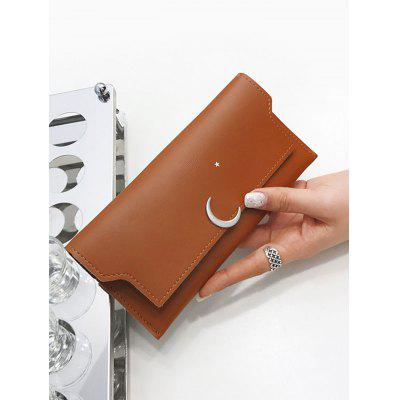 Snap Closure PU Leather Long WalletWallets<br>Snap Closure PU Leather Long Wallet<br><br>Closure Type: Snap Closure<br>Gender: For Women<br>Height: 9CM<br>Length: 19CM<br>Main Material: PU<br>Package Contents: 1 x Wallet<br>Pattern Type: Solid<br>Style: Fashion<br>Wallets Type: Clutch Wallets<br>Weight: 0.2000kg<br>Width: 1CM