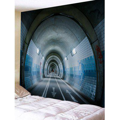 Tunnel Printed Wall Decor Tapestry