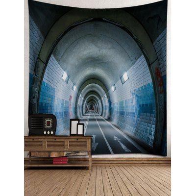 Tunnel Printed Wall Decor TapestryBlankets &amp; Throws<br>Tunnel Printed Wall Decor Tapestry<br><br>Feature: Removable, Washable<br>Material: Polyester<br>Package Contents: 1 x Tapestry<br>Shape/Pattern: Print<br>Style: Fashion<br>Theme: Architecture<br>Weight: 0.4100kg