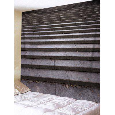 Stairs Printed Waterproof Wall Art TapestryBlankets &amp; Throws<br>Stairs Printed Waterproof Wall Art Tapestry<br><br>Feature: Removable, Waterproof<br>Material: Polyester<br>Package Contents: 1 x Tapestry<br>Shape/Pattern: Print<br>Style: Casual<br>Weight: 0.2100kg